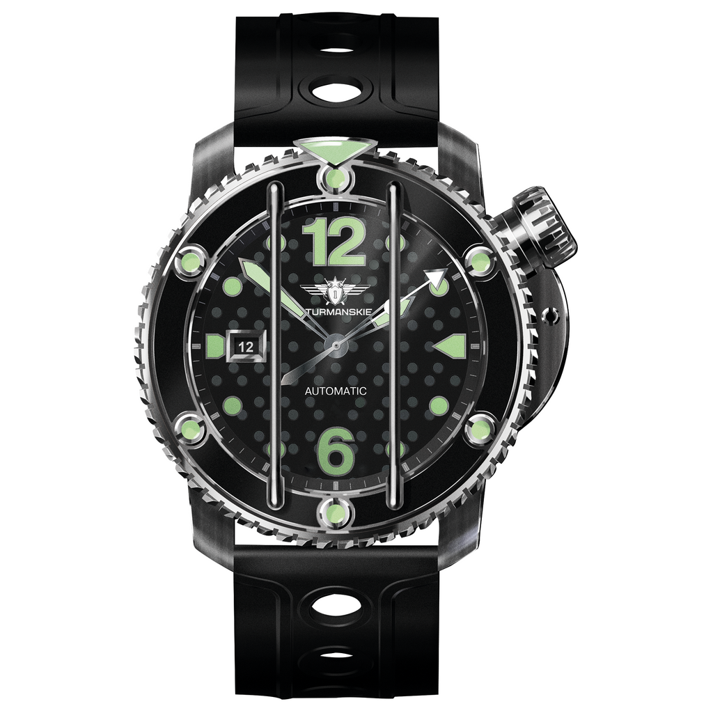 STURMANSKIE Stingray Green NH35/1825895 - Red Army Watches Malaysia