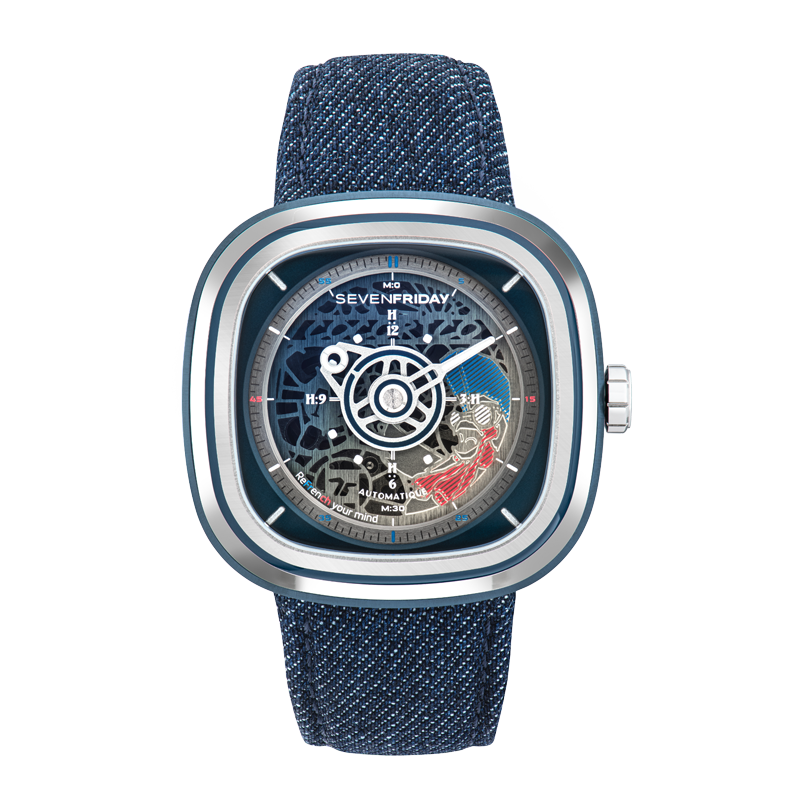 SEVENFRIDAY T1/01 COCORICO Limited Edition - Red Army Watches Malaysia