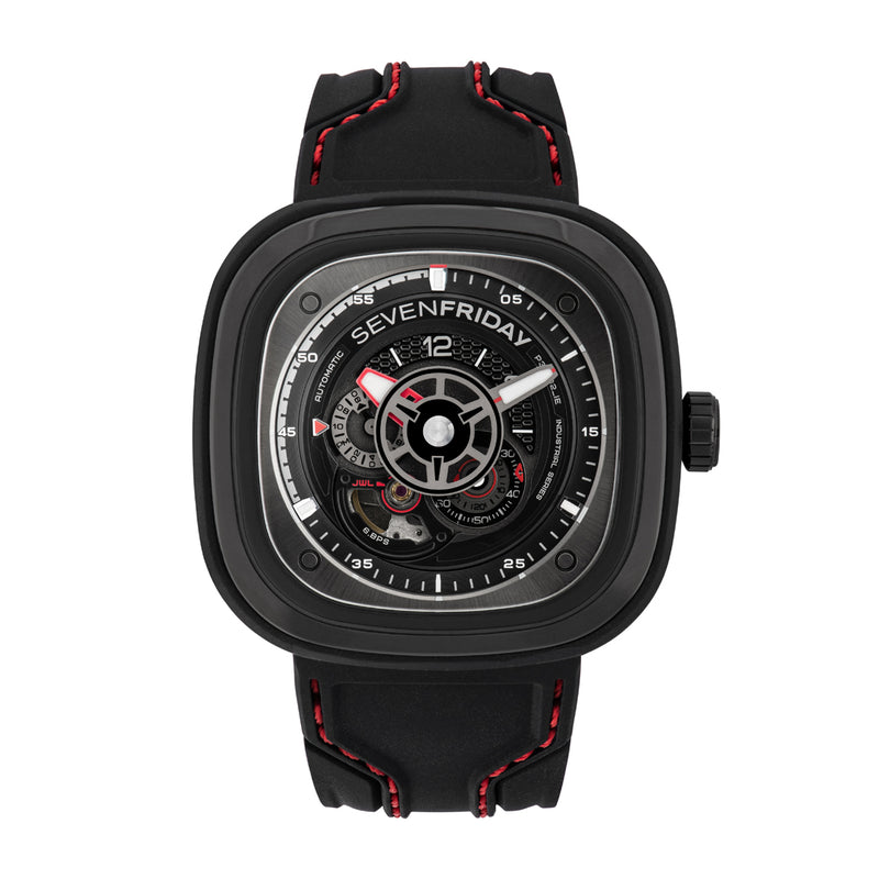 SEVENFRIDAY P3C/02 Racer III - Red Army Watches Malaysia