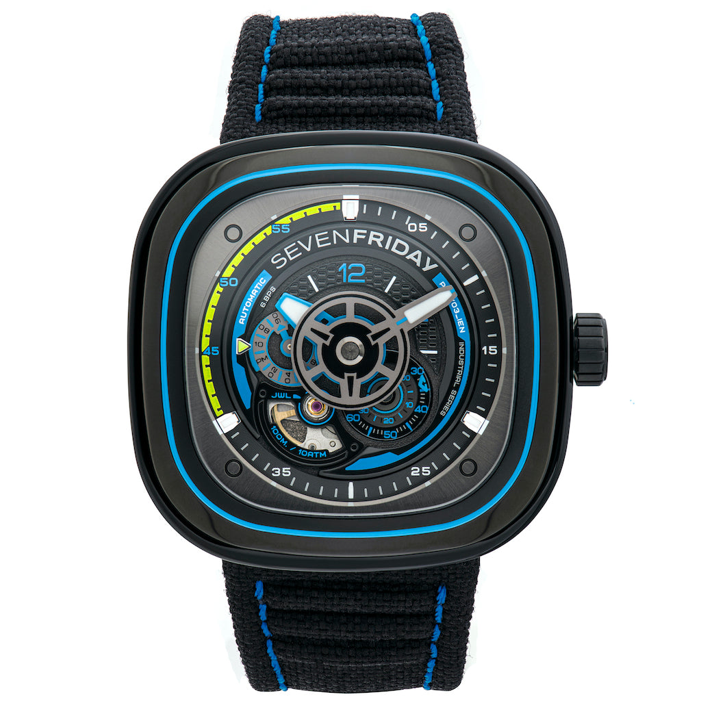 SEVENFRIDAY P3C/03 Beach Club - Red Army Watches Malaysia