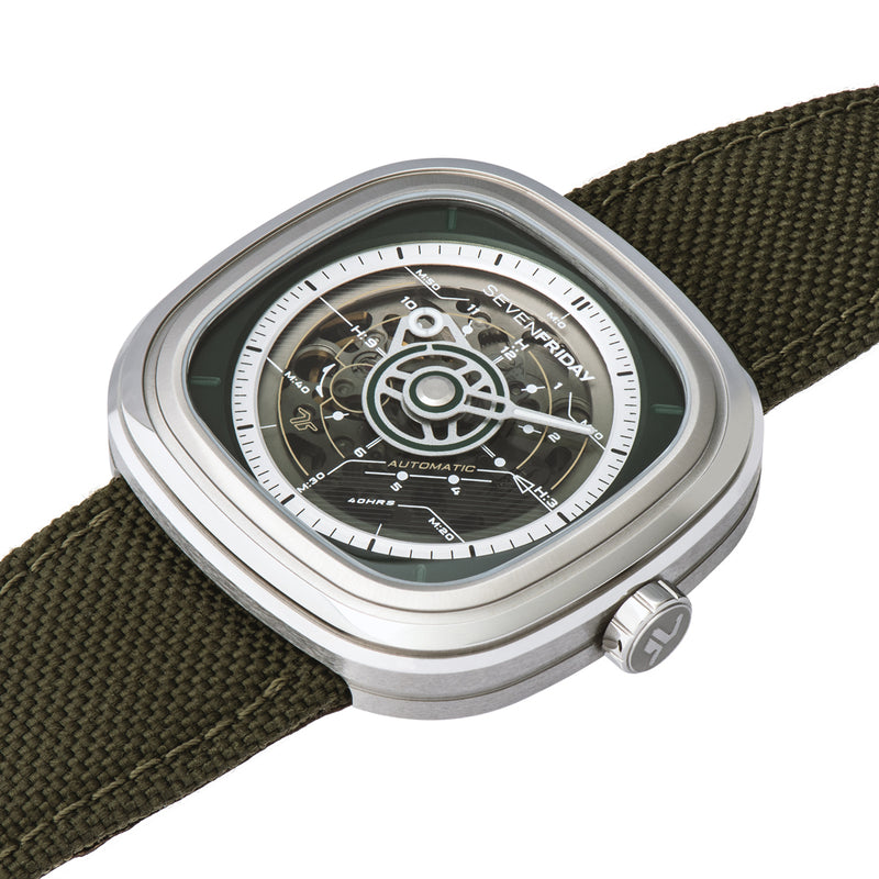 SEVENFRIDAY T2/01 - Red Army Watches Malaysia