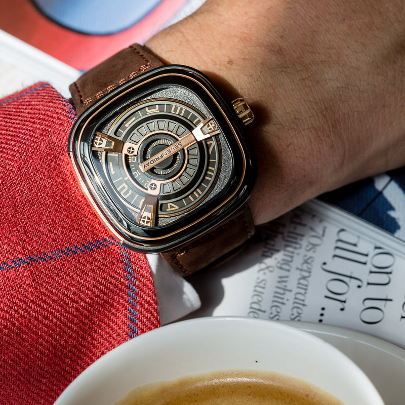SEVENFRIDAY M2/02 - Red Army Watches Malaysia