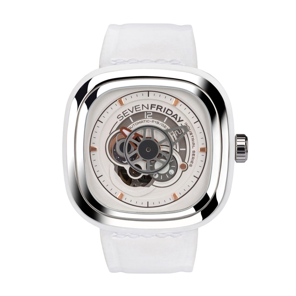 SEVENFRIDAY P1B/02 Bright - Red Army Watches Malaysia