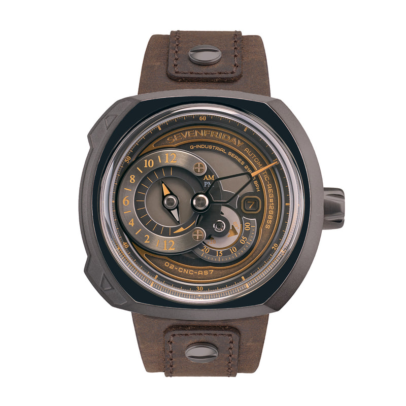 SEVENFRIDAY Q2/03 Choo Choo - Red Army Watches Malaysia