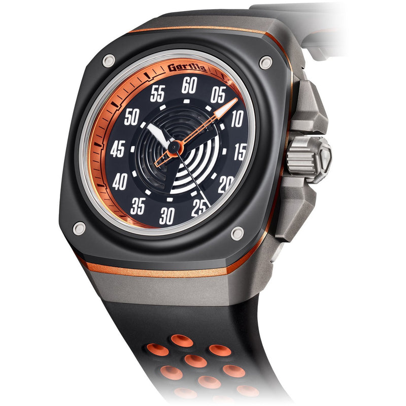GORILLA Fastback Hugger Orange (Bi-color) - Red Army Watches Malaysia