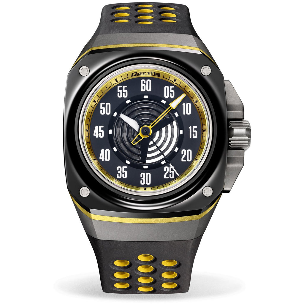 GORILLA Fastback Stinger Yellow (Bi-color) - Red Army Watches Malaysia