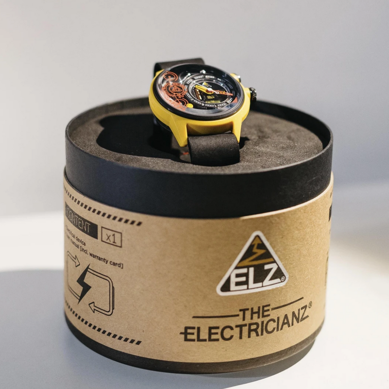 The ELECTRICIANZ Ammeter - Red Army Watches Malaysia