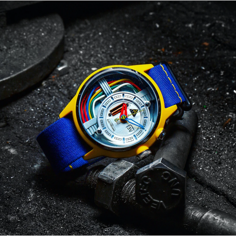 The ELECTRICIANZ Cable Z (Nato) - Red Army Watches Malaysia