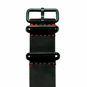 ELECTRICIANZ Black & Red Nato Strap - Red Army Watches Malaysia