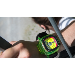SEVENFRIDAY HDB2 Green Case - Red Army Watches Malaysia