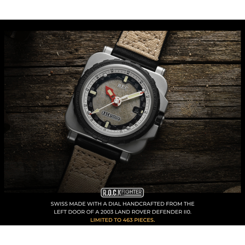REC RNR Rockfighter Limited Edition - Red Army Watches Malaysia