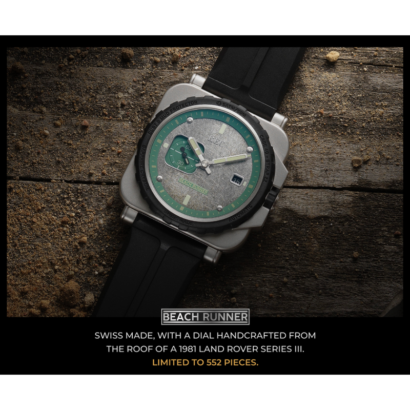 REC RNR Beach Runner Limited Edition - Red Army Watches Malaysia