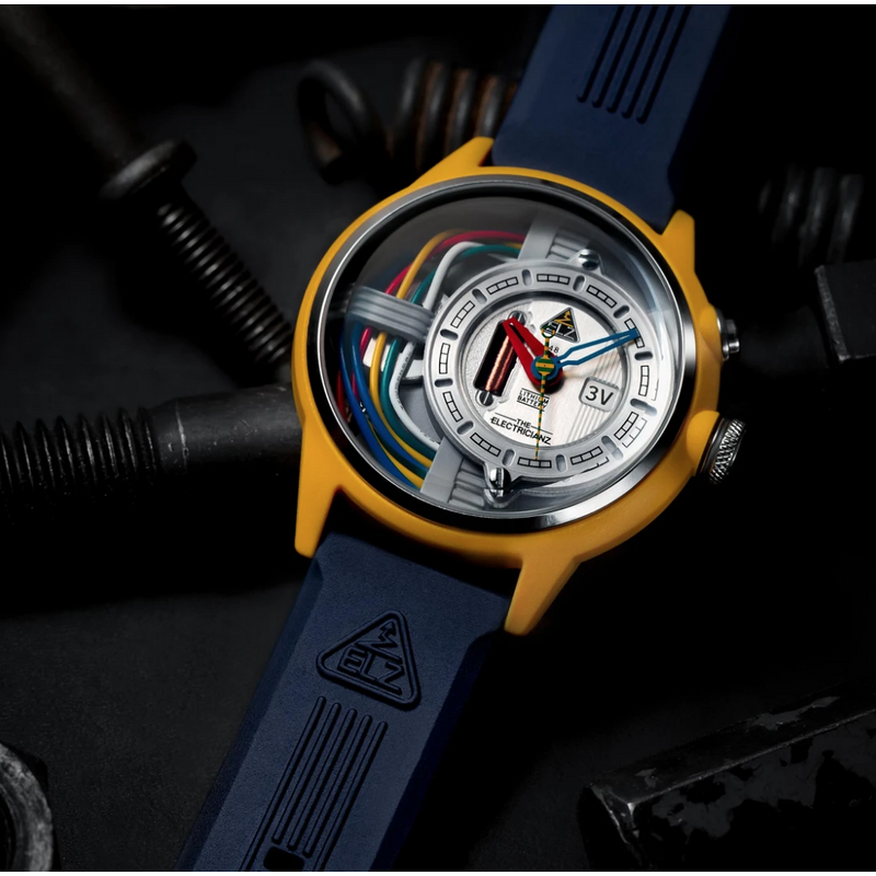 The ELECTRICIANZ Cable Z - Red Army Watches Malaysia