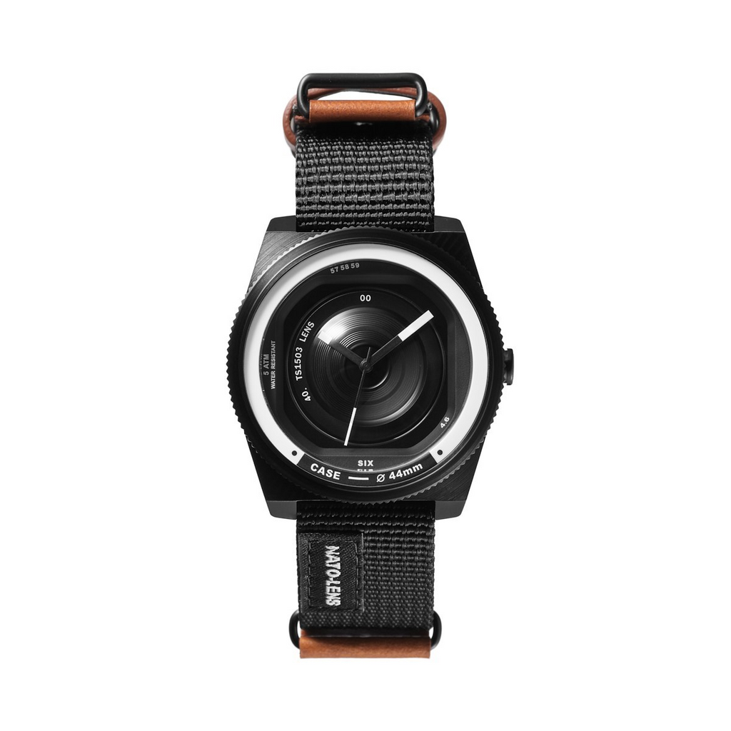 TACS Nato-Lens (Nylon Earthy Brown) - Red Army Watches Malaysia
