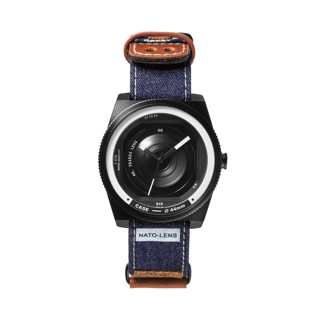 TACS Nato-Lens (Rugged Denim Blue) - Red Army Watches Malaysia