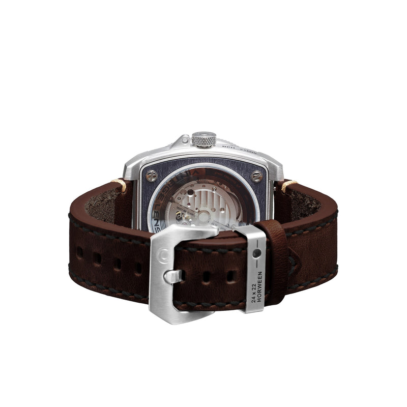 TACS Automatic Vintage Lens II - Rustic Brown B - Red Army Watches Malaysia