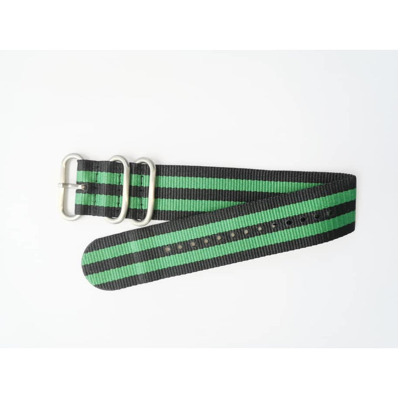 Black & Green Classic Nato Strap - Red Army Watches Malaysia