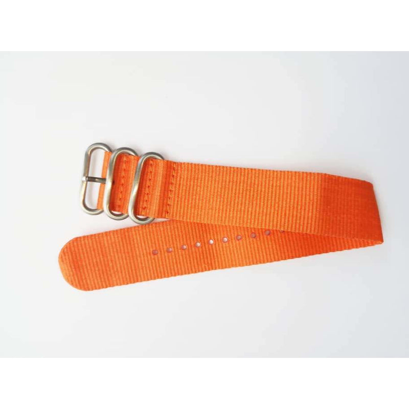 Orange Classic Nato Strap - Red Army Watches Malaysia