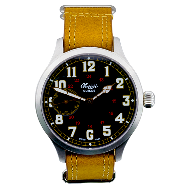 CHOISI Heritage Jumbo Pilot - Red Army Watches Malaysia