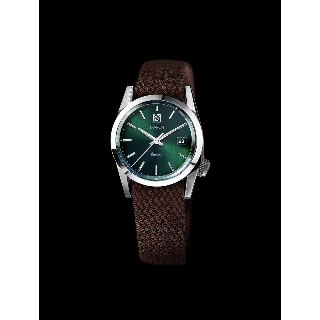 MARCH LA.B Seventy 3 – Green Dial SS - Red Army Watches Malaysia