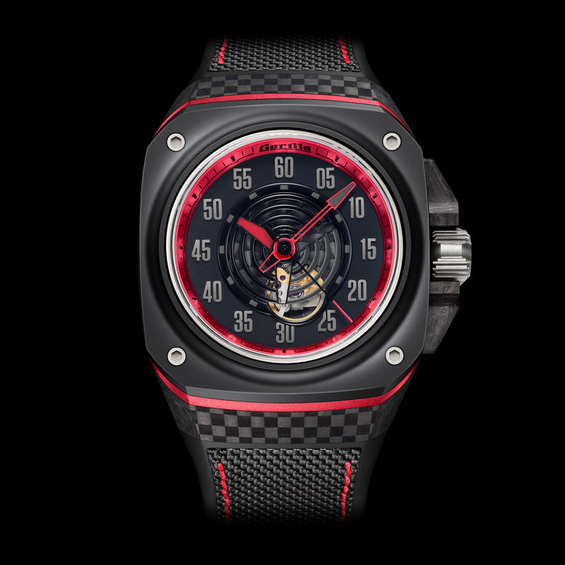 GORILLA Fastback Carbon GT Spectre - Red Army Watches Malaysia