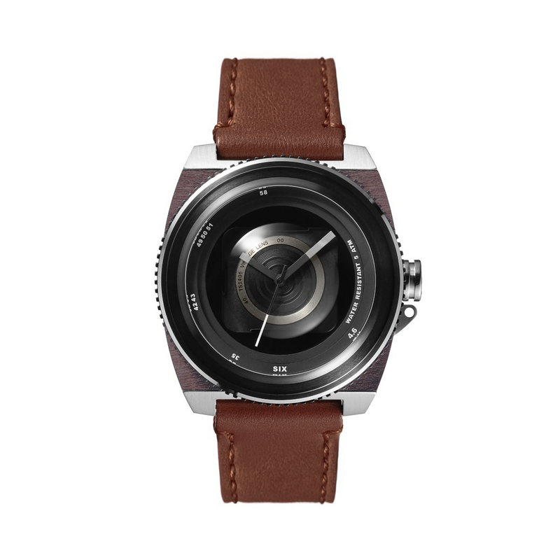 TACS Vintage Lens (Rustic Brown) - Red Army Watches Malaysia