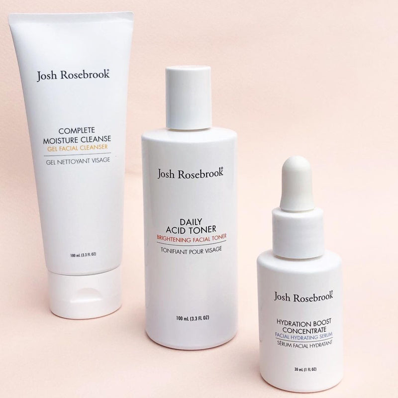 10 Must Have Natural Skincare Products from Josh Rosebrook