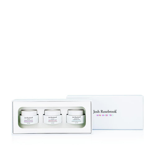 Josh Rosebrook Luxury natural skincare mask trio