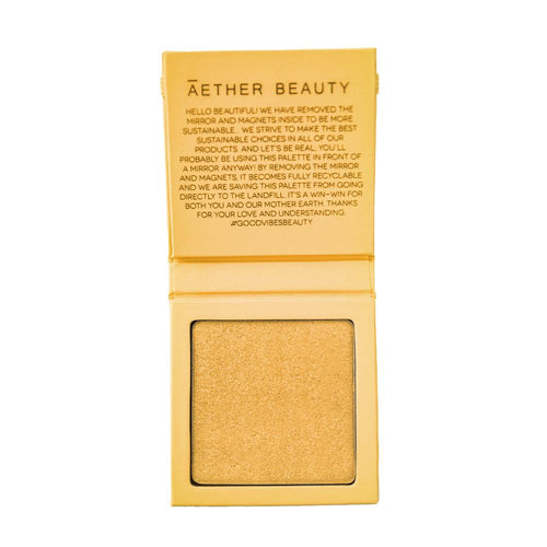 Aether Beauty Supernova Crushed Diamond Highlighter Yellow