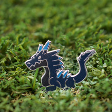 Load image into Gallery viewer, Monster Hunter Lagiacrus Enamel Pin Limited Edition
