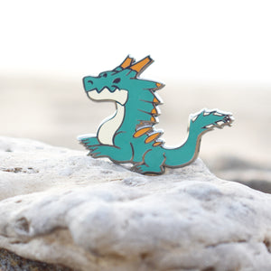 Monstie Lagiacrus Enamel Pin Limited Edition