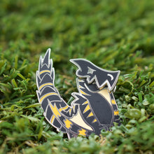Load image into Gallery viewer, Monster Hunter Tigrex Interactive Enamel Pin Limited Edition