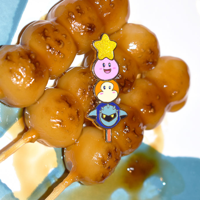 Dango Kirby and Friends Enamel Pin Limited Edition