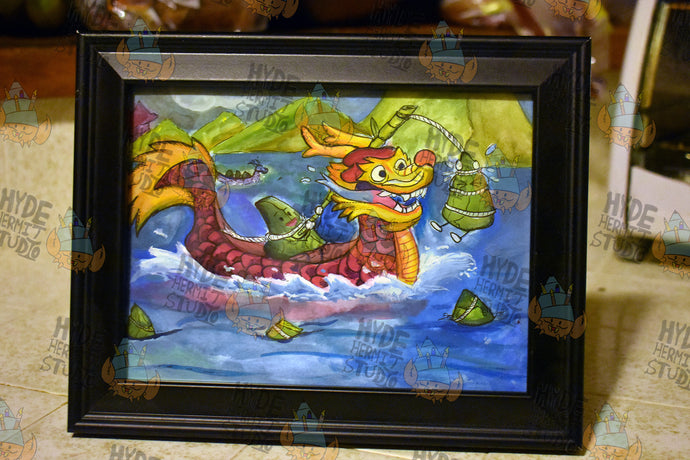 Dragon Boat Festival Traditional Art