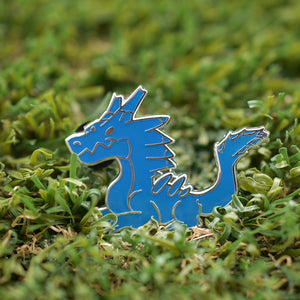 Monster Hunter Lagiacrus Enamel Pin Limited Edition