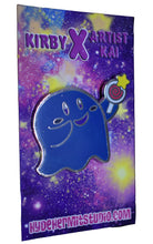 Load image into Gallery viewer, Ghost Kirby Enamel Pin Limited Edition