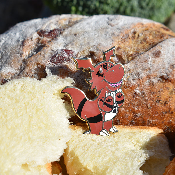 Guilmon Hard Enamel Pin Limited Edition 200