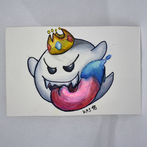 King Boo Traditional Art
