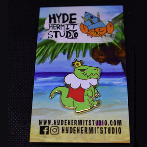King T-Rex Hard Enamel Pin