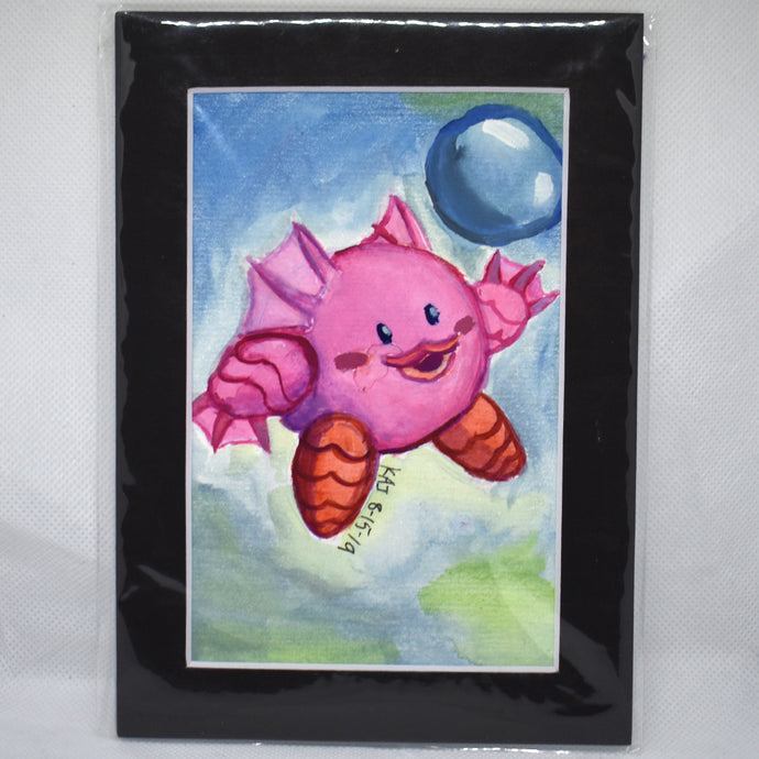 Swamp Monster Kirby Traditional Art