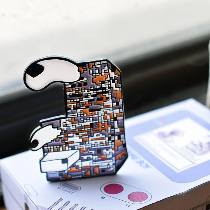 Missingno. Monster Enamel Pin Limited Edition 125