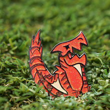 Load image into Gallery viewer, Monstie Tigrex Interactive Enamel Pin Limited Edition