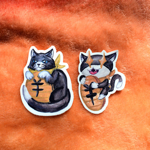 Cat Thief Vinyl Sticker