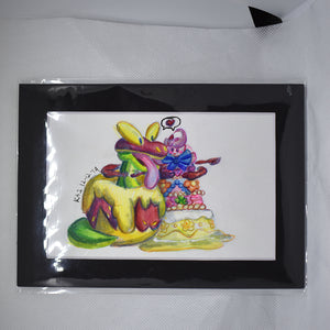 Foodie Gigantamax Pokemon Traditional Art