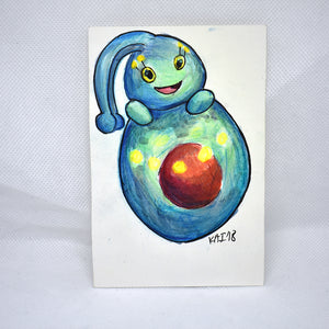 Manaphy Traditional Art