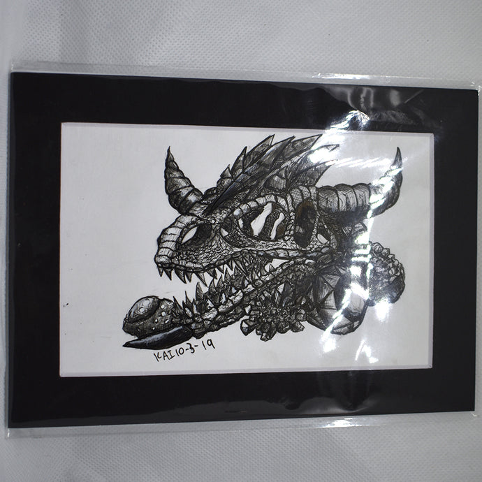 Sketchtober 2019 Traditional Drawing Western Dragon