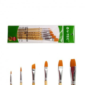 Vtec Art Brushes A21547/6A