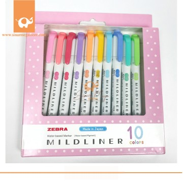 Mildliner Stabillo Highlither Set Isi 10Pcs