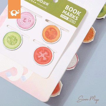 Fruits And Vegetable Magnetic Bookmark