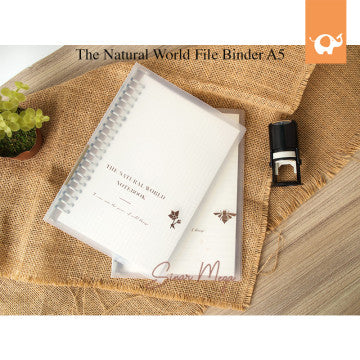 The Natural World File Binder A5